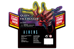 NECA Toys Alien Queen Facehugger Packaging Preview