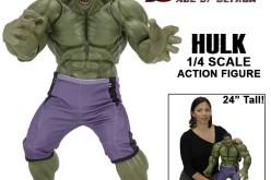 NECA Toys Avengers: Age Of Ultron 1/4″ Scale Hulk Figure On Amazon & eBay Storefront