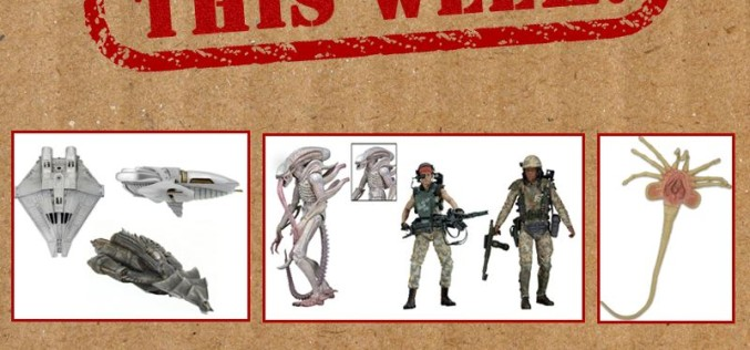 NECA Toys Shipping This Week: Aliens, Cinemachines, Suicide Squad & More