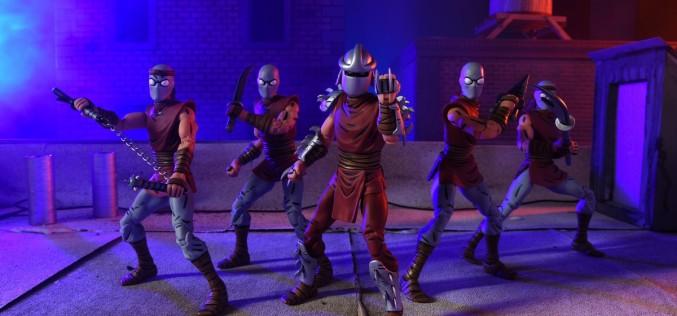 New York Comic-Con 2016 Exclusive NECA Toys TMNT Mirage Comics Foot Clan Box Set
