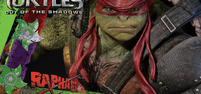 Prime 1 Studio TMNT: Out Of The Shadows Raphael Statue
