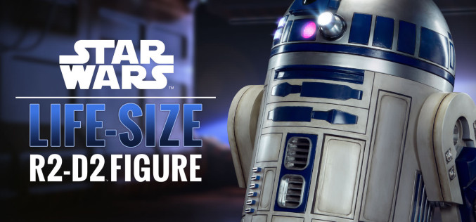 Sideshow Star Wars R2-D2 Life-Size Figure Pre-Orders