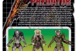 NECA Toys Predator Series 16 – Spiked Tail Predator Cardback & Bio