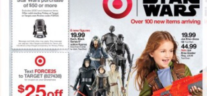 Star Wars Rogue One Items Showcased In Target Weekly Ads