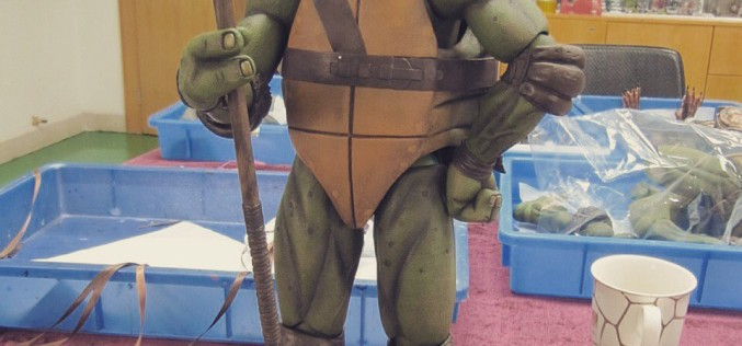NECA Toys Reveals More New Images Of TMNT 1990 1/4″ Scale Donatello