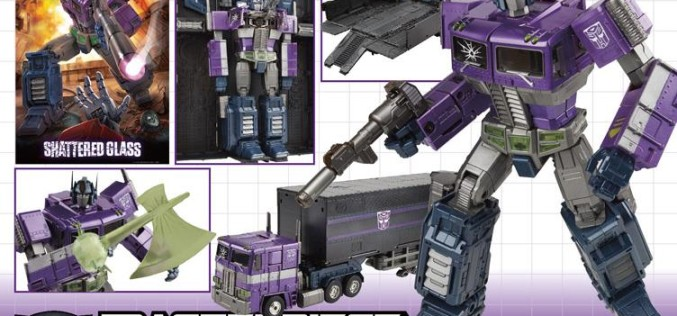 Takara-Tomy Transformers Masterpiece Shattered Glass Optimus Prime