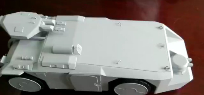 Hiya Toys Aliens Armored Personnel Carrier New Videos Available