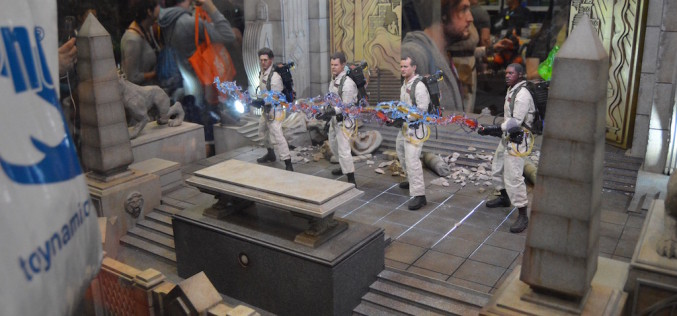NYCC 2016 – Blitzway Ghostbusters 1984 Sixth Scale Figures Booth Coverage
