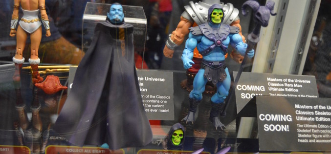 NYCC 2016 – Super 7 Masters Of The Universe Classics, Street Fighter & More