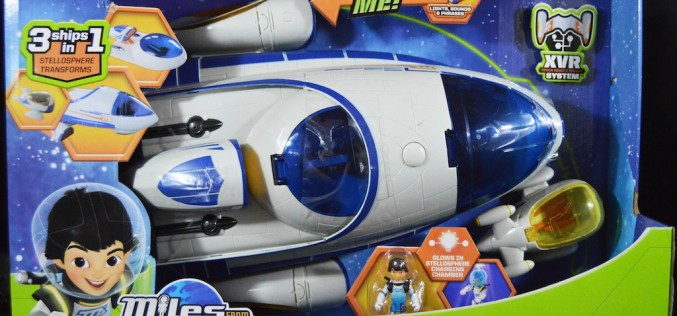 Disney Miles From Tomorrowland Stellosphere Spaceship Review