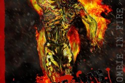 Dream Concept Collectibles Zombie In Fire Character Design Revealed