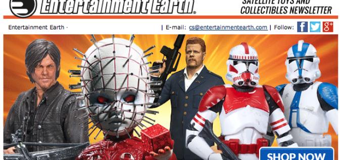 Entertainment Earth: The Walking Dead, Star Wars, Doctor Strange & More