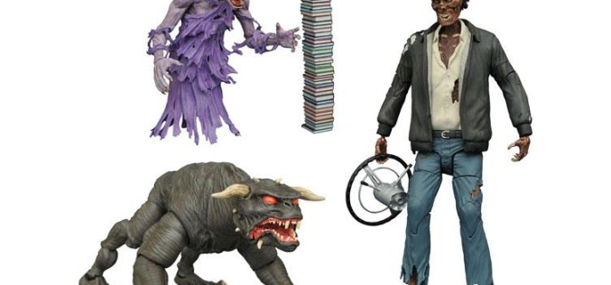 Diamond Select Toys Ghostbusters Select Series 5 – Terror Dog, Library Ghost & Taxi Cab Ghost