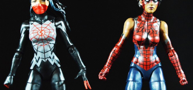 Hasbro Spider-Man Marvel Legends 6″ Silk & Spider-Girl Review