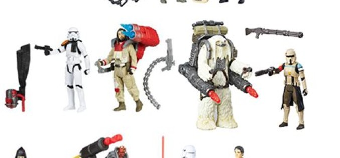 Entertainment Earth: Hasbro Star Wars Rogue One 3 3/4″ Action Figure 2 Packs Wave 2