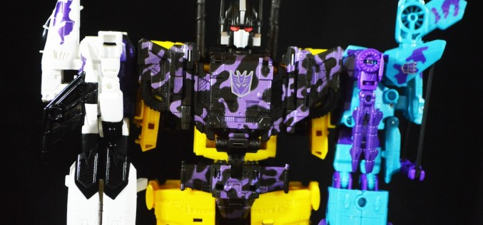 Hasbro Transformers Combiner Wars G2 Bruticus Boxed Set Review