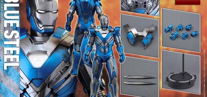 Hot Toys Iron Man Mk XXX Blue Steel Armor Figure Pre-Orders