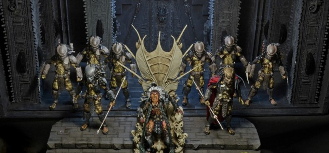 NECA Toys Predator Clan Leader – Final Production Images