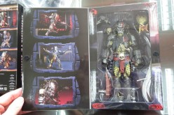 NECA Toys Scarface Predator Ultimate Figure Packaging Preview