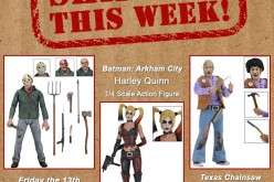 NECA Toys Shipping This Week: Harley Quinn, Jason Voorhees & Choptop