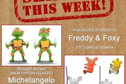 NECA Toys Shipping This Week: TMNT Body Knockers & Five Nights At Freddy's