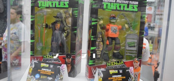NYCC 2016 – Playmates Toys Teenage Mutant Ninja Turtles WWE 6″ Figure Images
