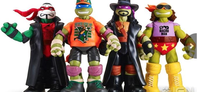 NYCC 2016 – Playmates Toys Teenage Mutant Ninja Turtles WWE 6″ Figures Revealed