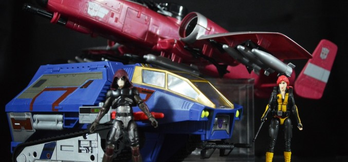 SDCC 2016 Exclusive Hasbro G.I. Joe/Transformers Crossover Box Set Review