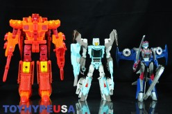 SDCC 2016 Exclusive Hasbro Transformers Titans Return Titan Force Set Review