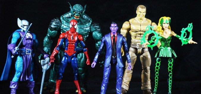 SDCC 2016 Exclusive Hasbro Marvel The Raft Legends Series 6″ Action Figure Set Review