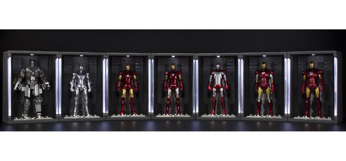 Tamashii Nations Announces S.H. Figuarts Iron Man 3 Hall Of Armor Display