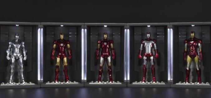 S.H. Figuarts Iron Man Mk VI & Hall Of Armor Versions Coming To U.S.