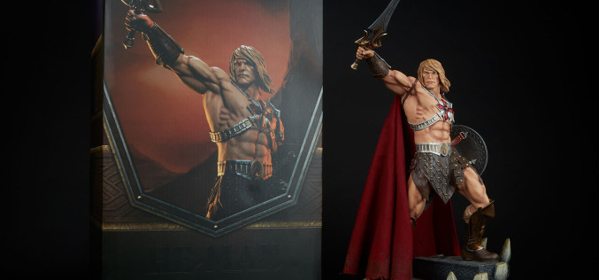 Sideshow Masters Of The Universe He-Man Statue Final Production Images