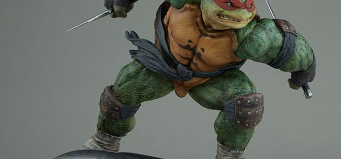 Sideshow Teenage Mutant Ninja Turtles Raphael Statue Pre-Orders