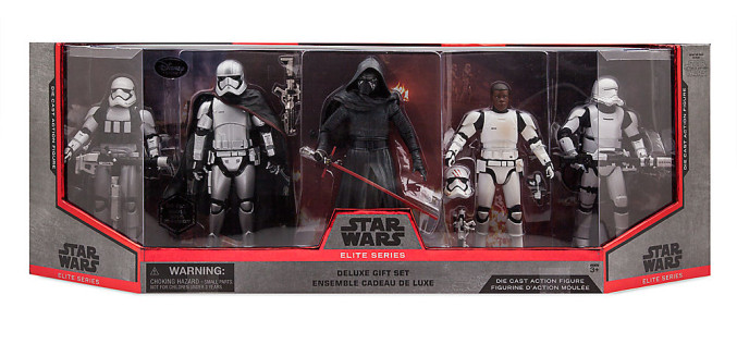 Disney Store Exclusive Star Wars Elite Series Gift Set Available Now