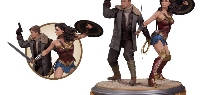 DC Collectibles Reveals Wonder Woman Film Statues At NYCC 2016