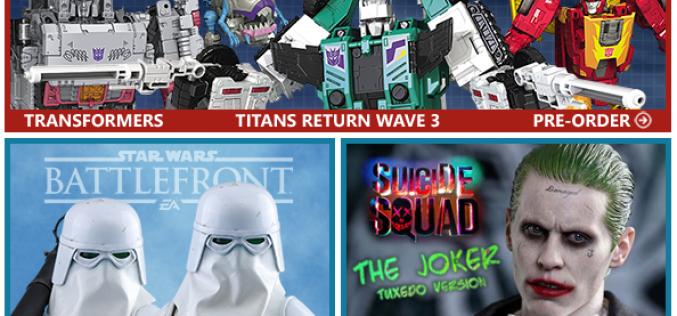 BigBadToyStore: TF Titans Return, Mythic Legions, Star Wars, TMNT, Dragon Ball, 1/6 Horror & More