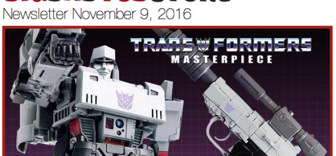 BigBadToyStore: MP-36 Megatron, Star Wars, Street Fighter, LotR, Aliens, BBTF, Deadpool & More