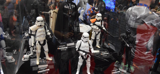 NYCC 2016 – Sideshow Collectibles Booth Coverage