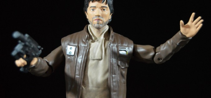 Disney Store Exclusive Star Wars Rogue One Elite Series Die-Cast Captain Cassian Figure Review