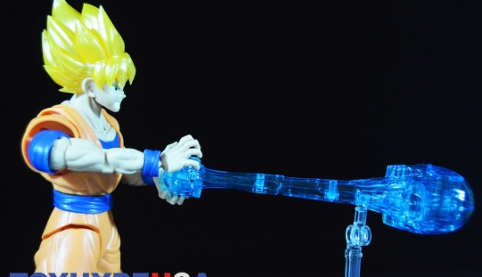 Dragon Ball Z Super Saiyan Son Goku Figure-Rise Standard Model Kit Review