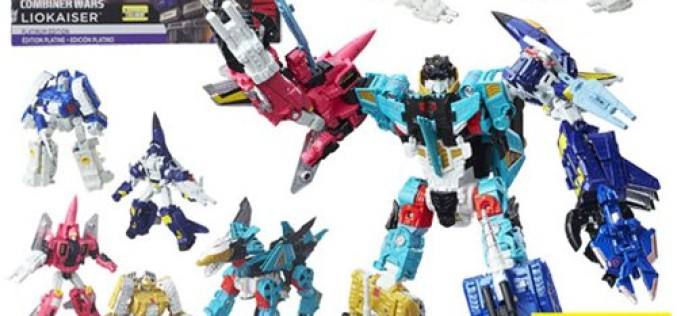 Entertainment Earth Exclusive Transformers Generations Platinum Liokaiser $20 Coupon Expires Friday