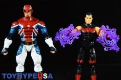 Hasbro Captain America: Civil War Marvel Legends 6″ Captain Britain & Wonder Man Review