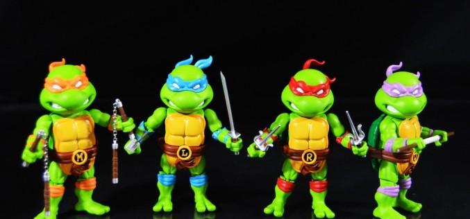 Herocross: Teenage Mutant Ninja Turtles Hybrid Metal Figuration 3″ Mini-Figures Review