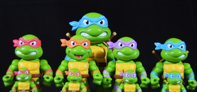 Jada Toys Teenage Mutant Ninja Turtles Metals Die-Cast Figures Review
