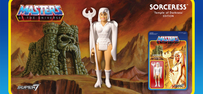 Super 7: Masters Of The Universe ReAction Sorceress Figure Available Now