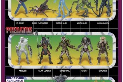 NECA Toys Aliens Vs. Predator Themed Card Back Image
