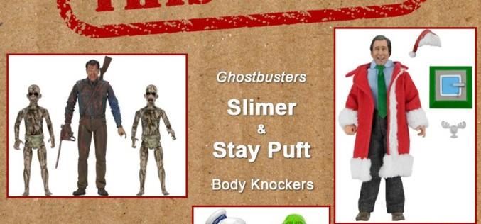 NECA Toys Shipping This Week: Ash Vs. Demon Spawn, Ghostbusters, & Santa Clark