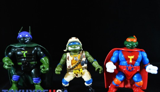 Playmates Toys TMNT Classic Collection Military Leonardo, Super Donnie & Super Mikey Review