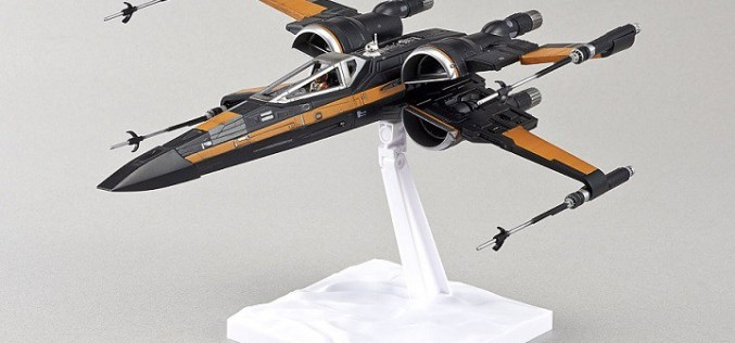 Bluefin Becomes The U.S. Distributor For Bandai Hobby's Scale Vehicle Line Of Star Wars Model Kits